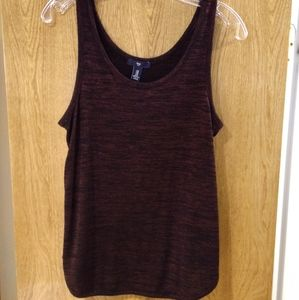 Gap knit tank top